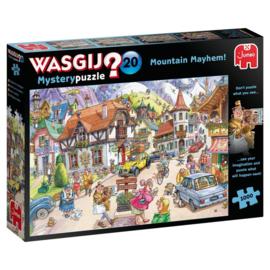 Wasgij Mystery 20 VAKANTIE IN DE BERGEN (1000 stukjes)
