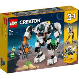 Lego Creator 31115 3 in 1 Ruimte mijnbouw-Mecha