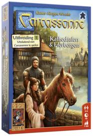 Carcassonne: Kathedralen & Herbergen (uitbreiding)
