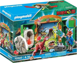 PLAYMOBIL 70507 SPEELBOX DINO-ONDERZOEKER