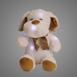 Pluche Hond Led 30 cm