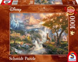 Disney Bambi, 1000 stukjes - Puzzel