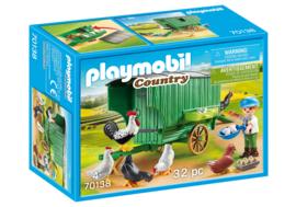 Playmobil 70138 Kind met Kippenhok