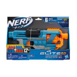 NERF ELITE 2.0 COMMANDER RD 6