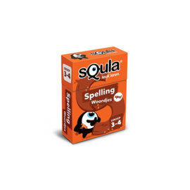 Kaartspel Squla Spelling Woordjes