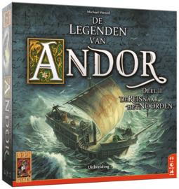 De Legenden van Andor: De Reis naar het Noorden - Bordspel