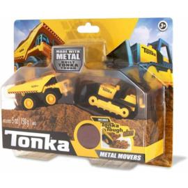 Tonka Mighty Dump and Bulldozer