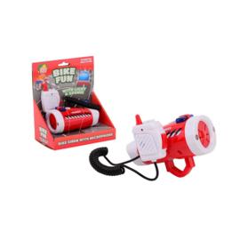 Fiets Sirene Brandweer Met Licht en Microfoon