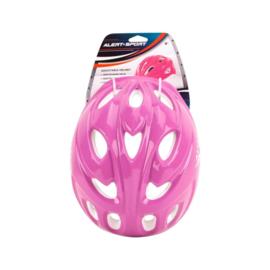Alert Verstelbare Helm Roze