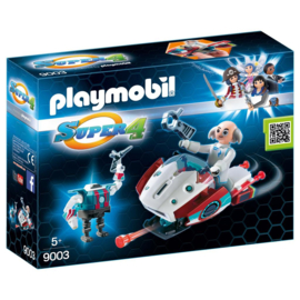Playmobil 9003 Super 4 Skyjet met Dokter