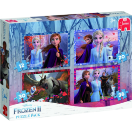 Puzzel 4 in 1 Frozen