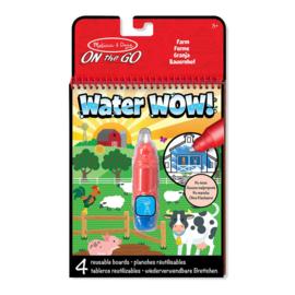 Verven met water Boerderij / Water Wow