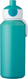 Mepal Campus Drinkfles Pop-up 400 ml - Turquoise