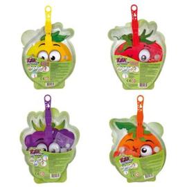 Bellenblaas Gigglz Fruity Bubbles 4 Assorti