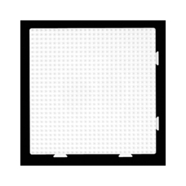Vierkante Koppelbare Strijkkralen Grondplaat