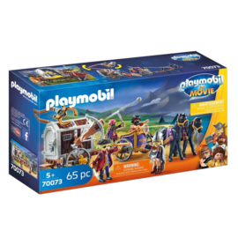 Playmobil The Movie Charlie met Gevangeniswagen 70073