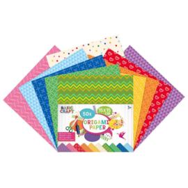 Origami Papier 50 stuks afm. 15x15 cm