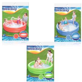 Bestway Kinderzwembad 3 Rings 152x30 cm   3 Uitvoeringen