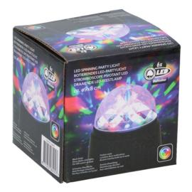 Draaiende LED Feestlamp