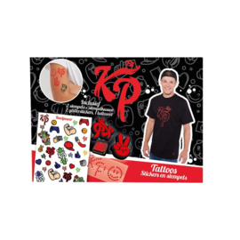 Enzo Knol Power Tattoos, Stickers en Stempels