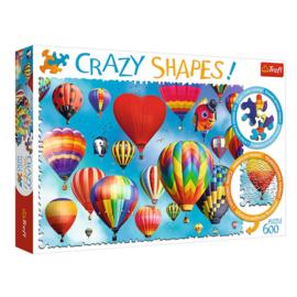 Puzzel Crazy Shapes Bonte Ballonnen