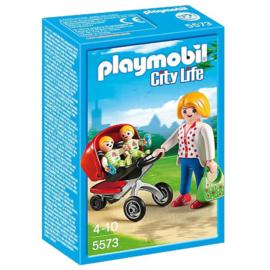 Playmobil 5573 Tweeling Kinderwagen