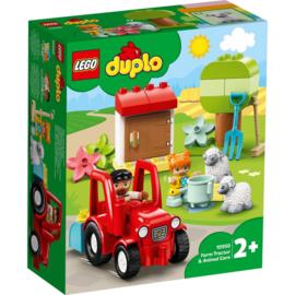 Lego Duplo 10950 Landbouw Tractor en Dieren