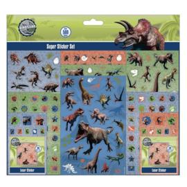 Stickerset Dinosaurus  500-Delig