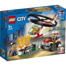 Lego City 60248 Brandweerhelikopter Reddingsoperatie
