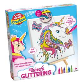 Hobbydoos Tekenen Glitter Unicorn