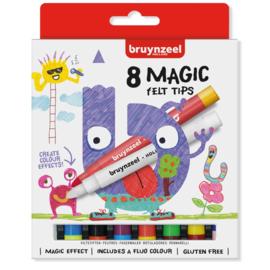 Bruynzeel Magische Viltstiften (8 stuks)