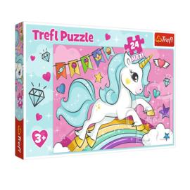 Maxi Puzzel 24 Stukjes Sweet Unicorn