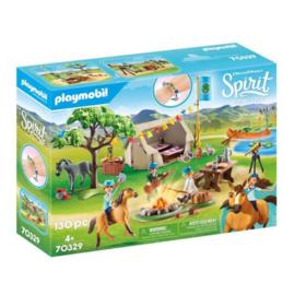 Playmobil 70329 Spirit Paardenkamp