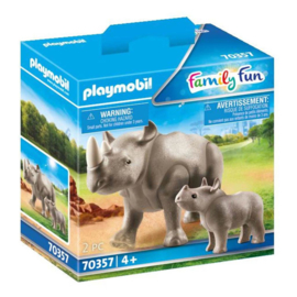 Playmobil 70357 Neushoorn met Baby