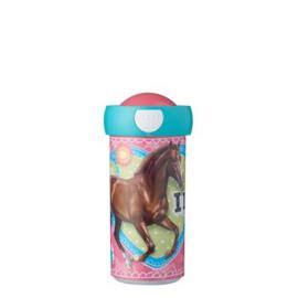 Schoolbeker Mijn Paard 300 ml Mepal