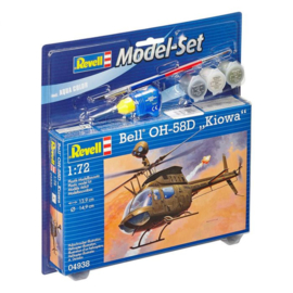 Bouwdoos Bell OH-58D Kiowa Model Set