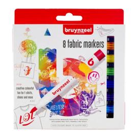 Bruynzeel Textiel Stiften (8 stuks)