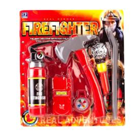 Brandweer Accessoires Set