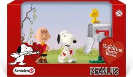 Schleich  22033 Snoopy Be My Valentine , Charlie Brown