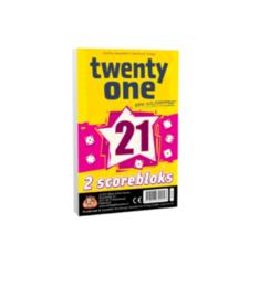 Twenty One Extra Scoreblok