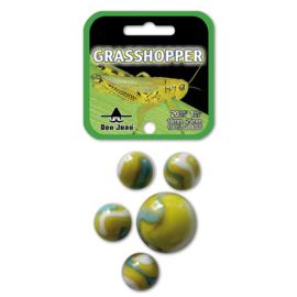 Knikkers grasshoppers 20 + 1 stuks