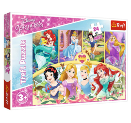Maxi Puzzel 24 Stukjes Princess Magic