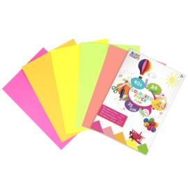 Fluorkleuren A4 Papier