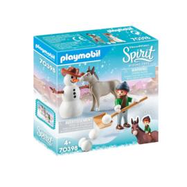 PLAYMOBIL 70398 SPIRIT SNEEUWPRET