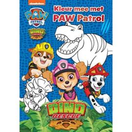 Paw Patrol Kleurboek Dino Rescue