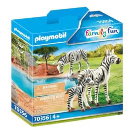Playmobil 70356 2 Zebra's met Baby