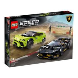 Lego Speed 76899 Lamborghini urus ST-X & Lamborghini Hurican Ssuper Trofeo evo