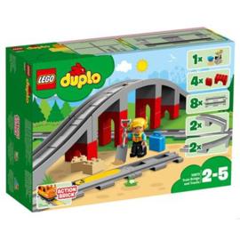Lego Duplo 10872 Treinbrug en- Rails