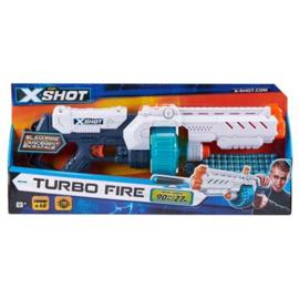 X-Shot Excel Turbo Fire Met 48 Darts Zuru