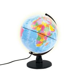 Globe Nederlands met licht
